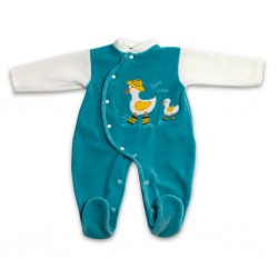 Pijama Bebê Tundosado -...