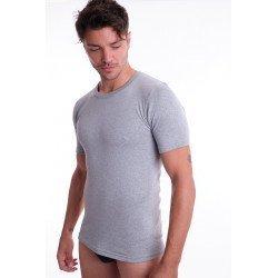 Camiseta de algodão Felpa...